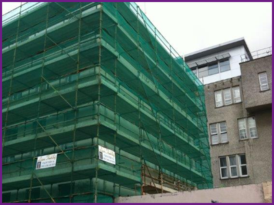 Scaffolding Supplies for Builders